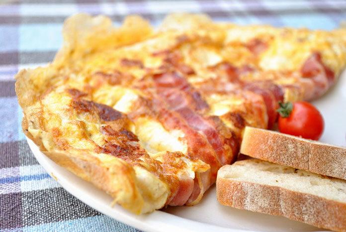 Jak zrobić zwykły omlet?