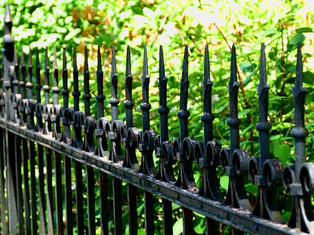 ogrodzenia kute